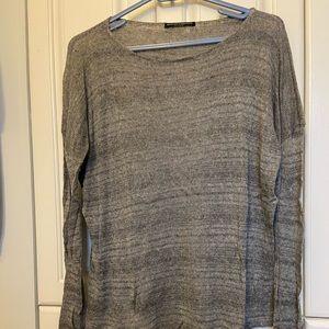 Grey lightweight sweater